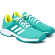 ADIDAS BARRICADE COURT 3 Tennis Shoes For Men(Blue)