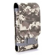 UNIGEAR Tactical MOLLE EDC Pouch, Universal Mobile Phone Belt Pouch Waist Bag for iPhone and Android Upto 6.2 inch Mobile ACU (Large)(Multicolor)