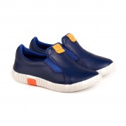 Pantofi Baieti Bibi Walk Baby New Albastri