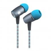 Huawei Honor Auricolari AM12 Cuffie con Microfono Grigio/Blu Originali P8 P9 P10 Mate G7 G8