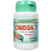 COSMOPHARM OMEGA 3 ULEI DE SOMON 30 capsule