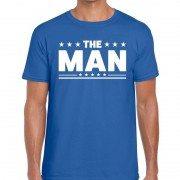 Shoppartners Toppers - The Man heren T-shirt blauw