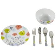 WMF Childrens Cutlery-set 6pc. Farmlily