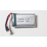 782540 - Acumulator Li-Polymer - 3,7 V - 600mah - 25x40x7,8 mm