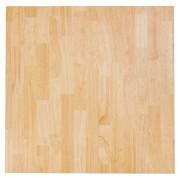 Tafelblad 'MASSIVO' vierkant van massief hout - 70x70 cm
