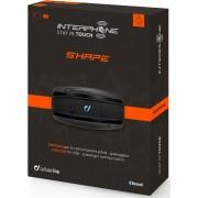 Interphone Shape Bluetooth kommunikationssystem Svart en storlek