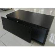 Battery Box for x 2 100Ah Bat ( On Adjustable Feet ) - SOL-BBB-2-100A-BLK