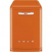 SMEG LVFABOR 60 cm Fristående Diskmaskin Retro Orange A+++