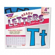 4 Uppercase/Lowercase Playful Ready Letters Combo Pack