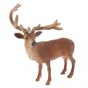 IJARP Realistic Male Red Deer Model Toy Action Figure Home Decorative Collectibles