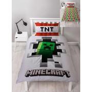 Character World Minecraft - Duvet Set Reversible Dynamite - 135 x 200 cm