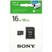 Sony SR-16UY3A 16 GB MicroSD Card Class 10 90 MB/s Memory Card