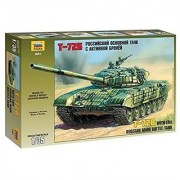 Zvezda Models T-72B Russian Main Battle Tank Model Kit by Zvezda Models