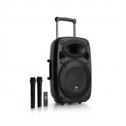 """auna Streetstar 12 Mobile PA-Anlage 12"""" Subwoofer Trolley BT USB/SD/MP3 UKW AUX"""