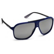 Carrera Aviator Sunglasses(Grey, Silver)