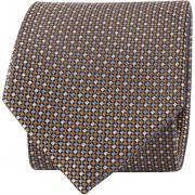 Suitable Krawatte Braun Druck - Braun