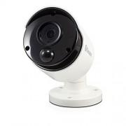 Swann swnhd-865msb-us 5MP de resolución con Sensor de Movimiento PIR y 130'de visión Nocturna cámara Domo, Blanco