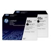 HP CE505XD Toner B 2*6,5k No.05XD Eredeti HP kellékanyag cikkszám: CE505XD