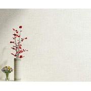 AKLIG Papel tapiz Color sólido, color beige, blanco Papel tapiz no tejido para sala de estar Tv Sofá Dormitorio Revestimiento de pared Fondo