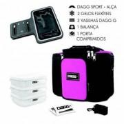 Kit com Bolsa Térmica Fitness Dagg 6L Braçadeira Armband - Unissex