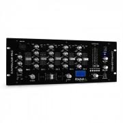 Ibiza DJM950USB-REC 4-Kanal-DJ-Mischpult USB-Aufnahme