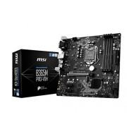 MSI ProSeries Intel B365 LGA 1151 Admite procesadores Intel de 9ª/8ª generación Gigabit LAN DDR4 USB/DVI-D/VGA/HDMI Micro ATX Placa Base (B365M Pro-VDH)