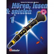 De Haske Hören,Lesen&Spielen Bd. 1 für Boehm Klarinette Lehrbuch