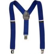 Fashion Circuit Y- Back Suspenders for Men(Blue)