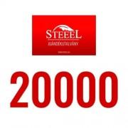 Ajándékutalvány - 20000 forint