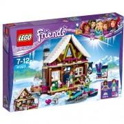 Set de constructie LEGO Friends Cabana din Statiunea de Iarna