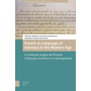 Amsterdam University Press French as language of intimacy in the modern age - Madeleine van Strien-Chardonneau, Marie-Christine Kok Escalle - ebook