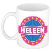 Bellatio Decorations Heleen naam koffie mok / beker 300 ml - Naam mokken