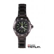 UZI Ballistic Swiss Tritium Watch UZI-26-BSS