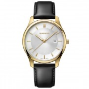 Wenger City Classic Reloj de cuarzo acero inoxidable silver-white-black