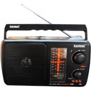 Santosh Five Band Portable FM Radio With USB AUX Support With Remote Control (Shyala 1)