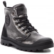 Туристически oбувки PALLADIUM - Pampa Hi Zip Pony 95983-019-M Black/Silver