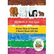 Brown Bear & Friends 4 Board Book Gift Set, Hardcover/Bill Martin