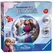 Puzzle 3D Frozen 72 Piese.Dispune de un suport.