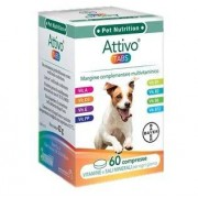 BAYER SpA (DIV.SANITA'ANIMALE) Attivo Tabs 60 Compresse
