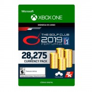 Microsoft the golf club 2019 28275 currency xbox one