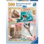 Пъзел 500 части Прима балерина, Ravensburger Primaballerina, 7014647