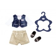 Zapf Creation 824511 Baby Born Outfit in Traditional Costume Boy