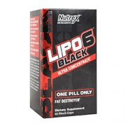 LIPO-6 BLACK (Ultra Concentrate) 60 Capsules
