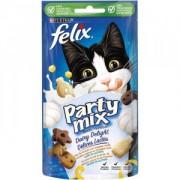 Felix Party Mix Délices friandises produits laitiers pour chats 4 x 60g