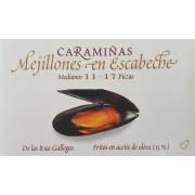 Mejillones Caramiñas Ramon Franco 11/17 piezas.