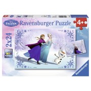 Ravensburger Frozen: Sorelle per Sempre. 2 x 24 Pezzi