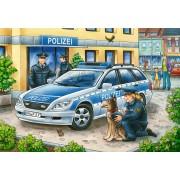 Puzzle Ravensburger - Politie Si Pompieri, 2X12 Piese