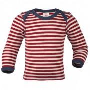 Engel Baby Schlupfhemd L/S Intimo lana merinos (98/104, rosso/bianco/beige)