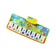 Segolike Musical Toy Kids Baby Farm Animal Paino Musical Music Touch Play Singing Gym Carpet Mat Toy Gift - multi-colored, 4