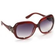 Olvin Over-sized Sunglasses(Grey)